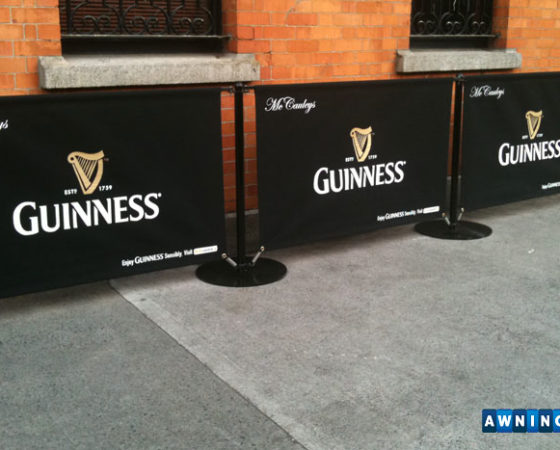 Awnings.ie guiness windbreaker