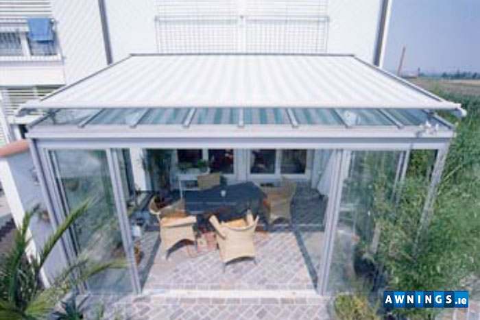awnings.ie residential vertical awning & Conservatory Awnings from Awnings.ie - The Awning Company
