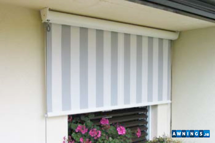 Awnings.ie vertical awnings