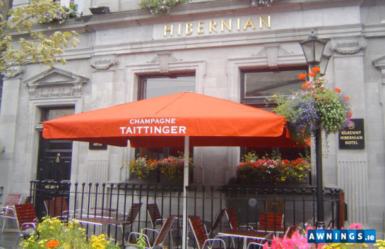 awnings.ie hibernian umbrella