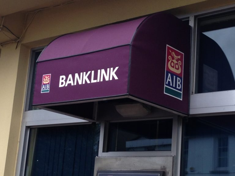 awnings.ie purple banklink canopy