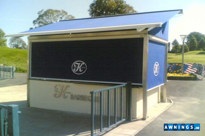 Awnings.ie residential vertical awnings